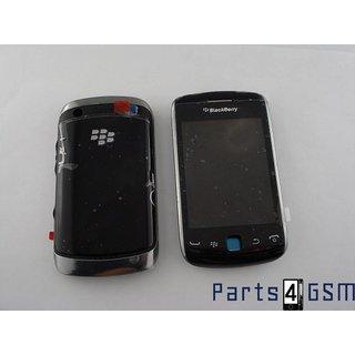 BlackBerry Curve 9380 Behuizingset Compleet Zwart + Lcd Display + Touchscreen Display