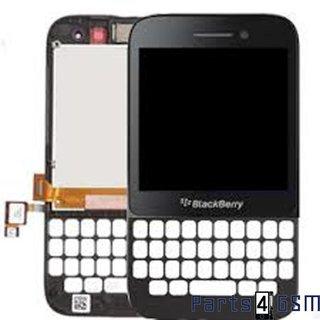 Blackberry Q5 Lcd Display Module, Zwart