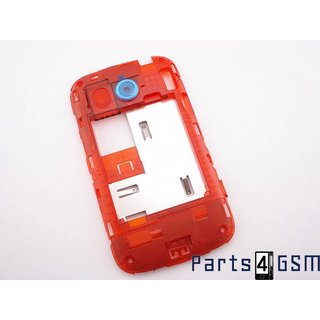HTC Desire C Middenbehuizing Rood 74H02228-10M