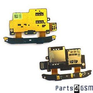 HTC Desire S SIM Card + MicroSD Connector Flex Cable 51H10144-00M