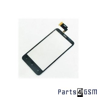 HTC Desire V Touchpanel Glas, Buitenvenster Raampje Zwart