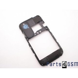 HTC Desire X Middle Cover Black 74H02304-04M