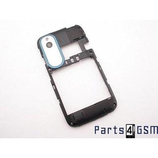 HTC Desire X Middenbehuizing, Blauw, 74H02304-05M