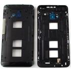 HTC Middle Cover One Dual Sim (M7 802w), Black, 74H02463-00M