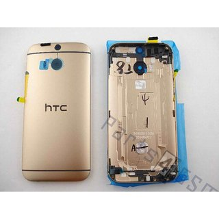 HTC One (M8) Battery Cover, Gold, 74H02615-03M