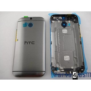 HTC One (M8) Back Cover, Grey, 83H40008-00; 83H40008-01; 83H40009-00; 74H02638-01M