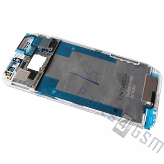 HTC One (M8)  Front Cover Frame, White, 74H02614-00M