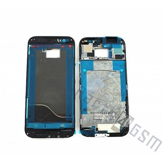 HTC One (M8) Front Cover Frame, Zwart, 74H02614-01M