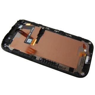 HTC One SV C520e LCD Display + Touchscreen + Frame 80H01421-00 Black
