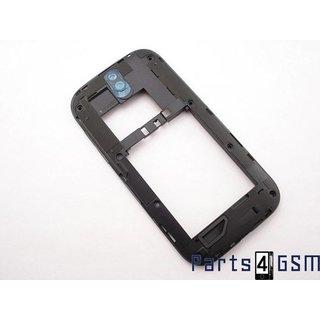 HTC One SV C520e Middenbehuizing Zwart 74H02393