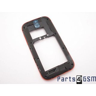 HTC One SV Middle Cover Red 74H02327-00M