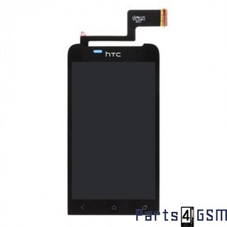 HTC One V Lcd Display + Touchscreen Zwart