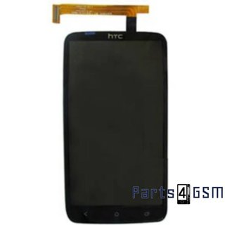 HTC One X Lcd Display + Touchscreen Zwart 60H00714