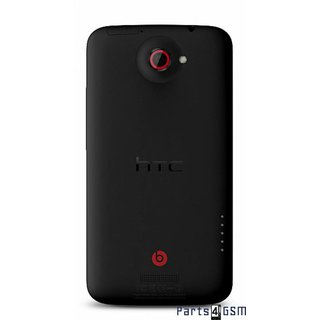 HTC One X+ Back Cover Black 74H02354-02M