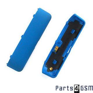 HTC Windows Phone 8S Bodem Behuizing Blauw 74H02345-03M