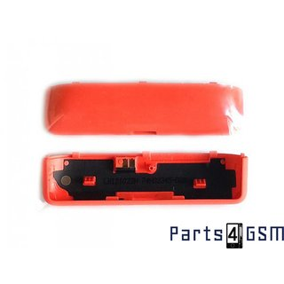 HTC Windows Phone 8S Bodem Behuizing Oranje 74H02345