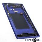 HTC Windows Phone 8X Batterijdeksel Blauw 37H02317-01M