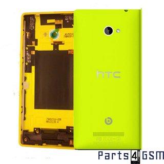 HTC Windows Phone 8X Achterbehuizing, Geel, 74H02316-05M