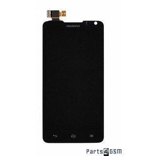 Huawei Ascend D1 Lcd Display + Touchscreen Display + Frame Zwart