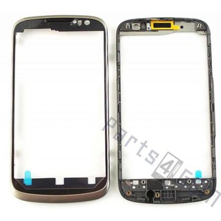 Huawei Ascend G300 Front Cover Frame, Zilver