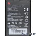 Huawei HB4W1 Batterij, Ascend G510 (T8951) , 1700 mAh GB/T 18287-2000