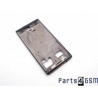 Huawei Ascend P1 Behuizing Voor Zwart