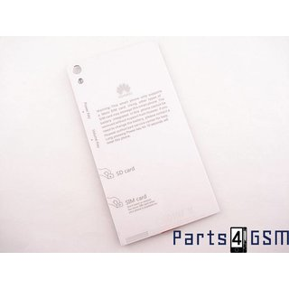Huawei Ascend P6 Accudeksel, Wit