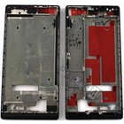 Huawei Front Cover Frame Ascend P7, Black