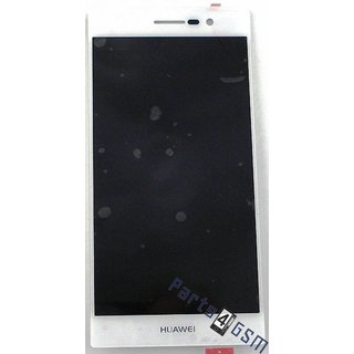 Huawei Ascend P7 LCD Display Module, White