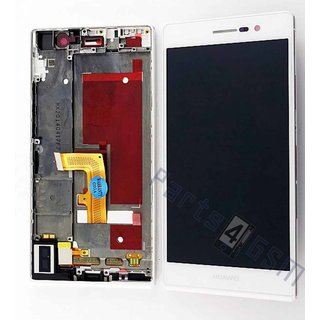 Huawei Ascend P7 LCD Display Module, White, 02359389