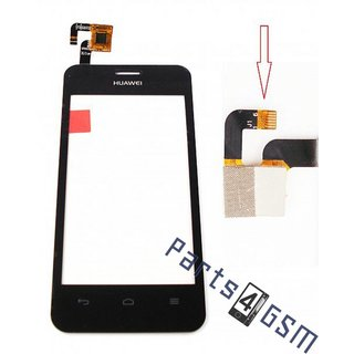 Huawei Ascend Y320 Touchscreen Display, Black