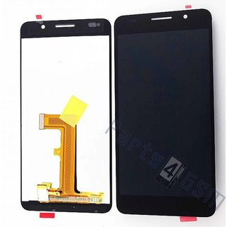 Huawei Honor 6 Lcd Display Module, Zwart