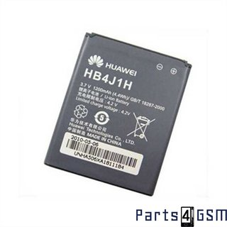 Huawei HB 4J1H Battery, U8180, U8150, U8180, U8160, Vodafone 845, 1050mAh, HB4J1H