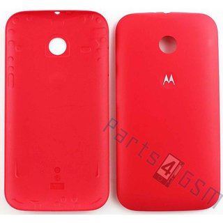 Motorola Moto E Battery Cover, Red