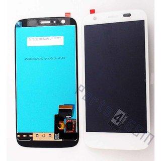 Motorola XT1032 Moto G Lcd Display Module, Wit