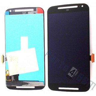 Motorola XT1068 Moto G2 Lcd Display Module, Zwart