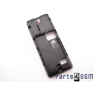 Nokia Nokia 108 Middenbehuizing, Zwart, 02504J0