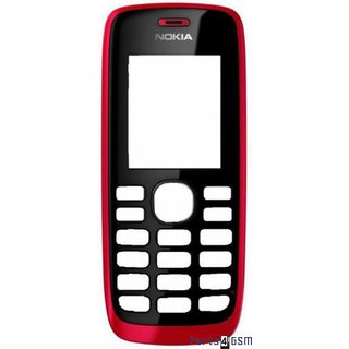 Nokia 112 Front Cover Rood 02500R7