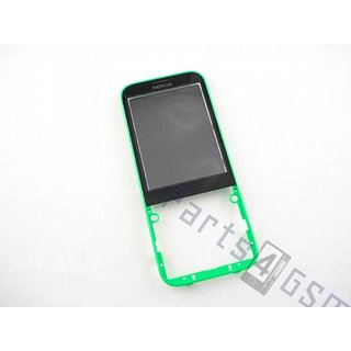 Nokia 225 Front cover incl. Display Window, Green, 02507G8