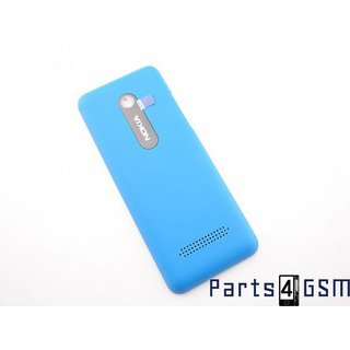 Nokia 206 Dual Sim Battery Cover Blue 02501J3