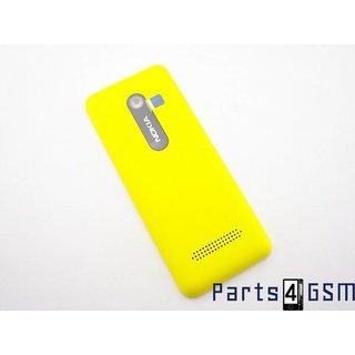 Nokia 206 Dual SIM Accudeksel Geel 02501J0