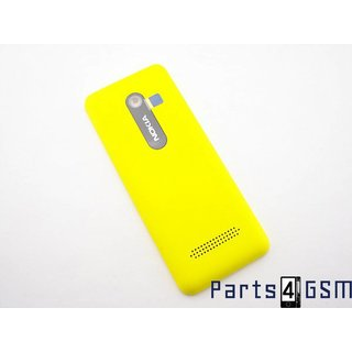 Nokia 206 Dual Sim Battery Cover Yellow 02501J0