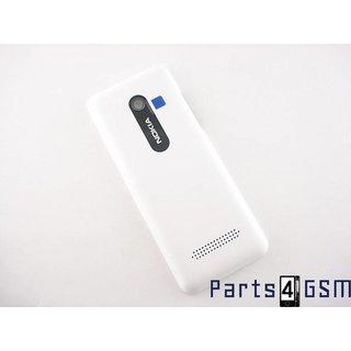 Nokia 206 Dual Sim Accudeksel Wit 02501H9