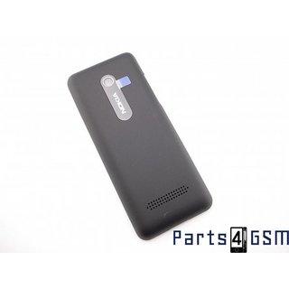 Nokia 206 Dual Sim Battery Cover Black 02501J1