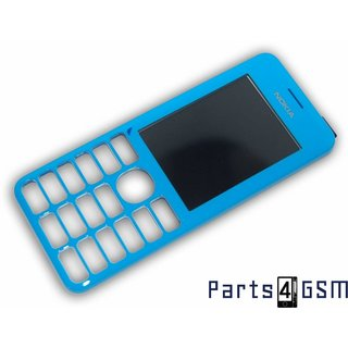 Nokia 206 Dual SIM Front Cover Blue 02501H3