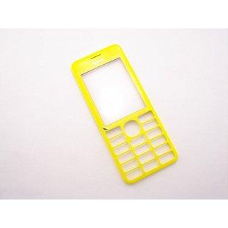 Nokia 206 Dual Sim Frontcover Geel 02501H0