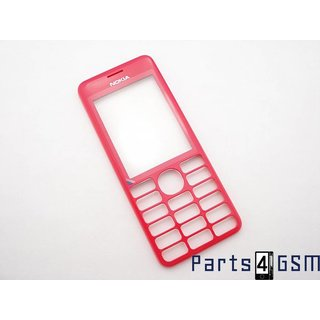 Nokia 206 Dual SIM Front Cover Pink 02501H2