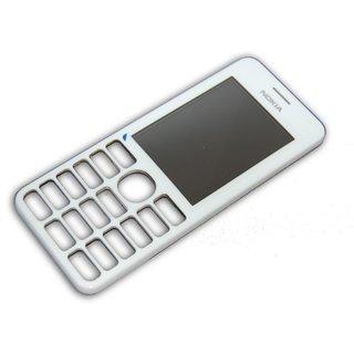 Nokia 206 Dual SIM Front Cover White 02501G9