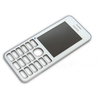 Nokia 206 Dual Sim Frontcover Wit 02501G9