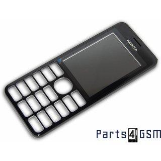 Nokia 206 Dual Sim Frontcover Zwart 02501H1